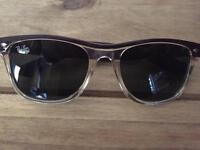 Brown Ray-Ban sunglasses authentic as new