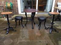 Complete bar furniture set