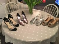 Ladies shoes size 6, grab a bargain, lovely selection of occasion shoes £40 for all four pairs!