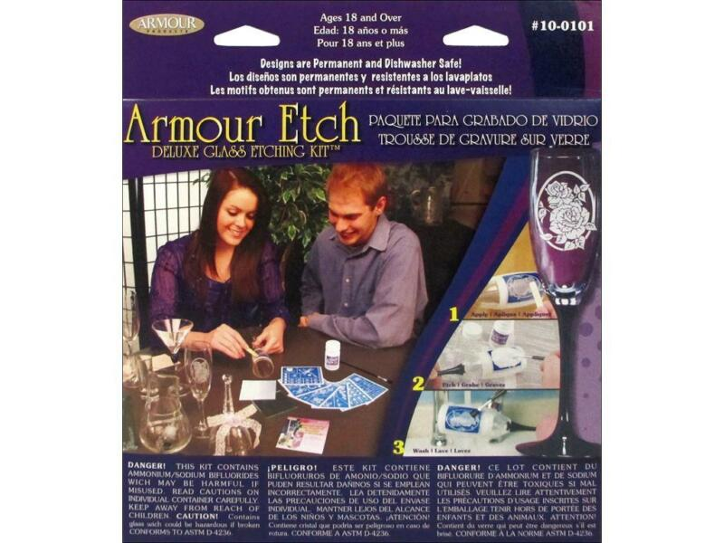 ARMOUR ARM100101  GLASS ETCH DELUXE KIT