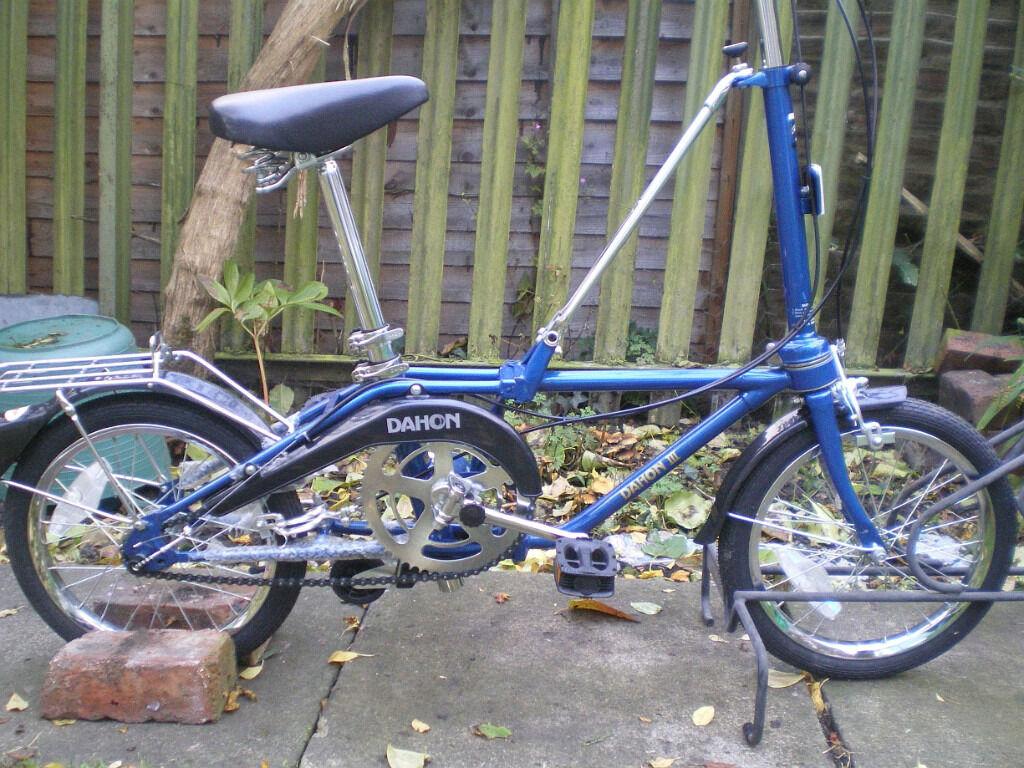 Folding Bicycle Dahon 3 Vintage In Sandwell West Midlands