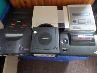 WANTED OLD RETRO GAMES AND CONSOLES SEGA, NINTENDO, N64, NES, SNES, MEGADRIVE, MASTER SYSTEM,GAMEBOY