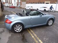 Audi Tt roadster (150 convertible,2 previous owners,2 keys,FSH,full MOT,runs and drives nicely,