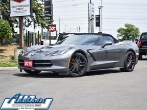 2015 Chevrolet Corvette Stingray Z51 2LT Z51 PKG Performance Bra
