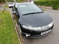 Honda Civic EX Diesel Sat Nav, Bluetooth, Auto Lights, Wipers.