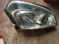 Nissan qashqi headlight