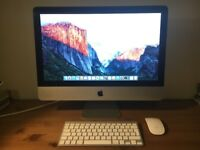 Apple Imac 21.5 inch, 2.5Ghz Quad Core intel i5 processor with apple wireless keyboard and mouse