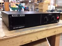Black Box AV A400S Professional Power Amplifier, very powerful.