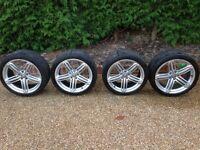 "Genuine Audi 19"" 5 Segment Spoke Alloy Wheels (x4)"