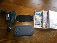 Brand new condition with games psp