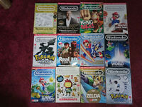 Official Nintendo magazines. 67 mags + one other.