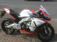 Aprilia rs4 125 bike is in good condition text or phone me for more info 07950111774