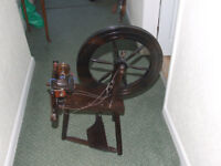 Spinning Wheel - Working reproduction for craft activities