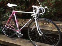 Raleigh 'mercury' vintage road racer racing bike