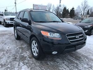 2007 Hyundai Santa Fe GLS - Leather AWD - 7 PASSENGER