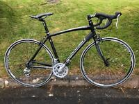Raleigh Revenio Road Bike. 52cm carbon forks.