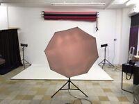 URGENT Bowens photography lights kit set, softboxes & trigger