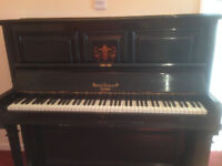 Free working upright piano for collection from Thorpe St Andrews Norwich .