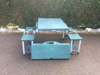 Collapsible Garden Table