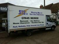 man and van Southampton light removals, all house hold items we move