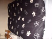Large Pillow Style Dog Bed