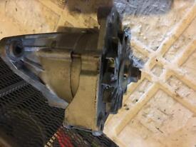 Vw corrado golf g60 engine parts alternator tensioner supercharger bracket