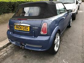 Mini Cooper 1.6 convertible jcw kit alloy wheels, 1yr mot £2695 ovno