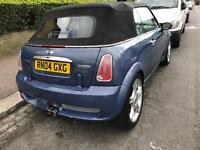 Mini Cooper 1.6 convertible jcw kit alloy wheels, 1yr mot £2695 ovno