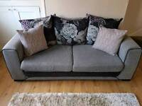DFS Large Two Seater Sofa