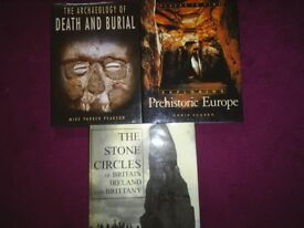Archaeology - History - Ancient History Hard Cover Books