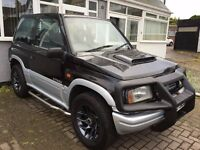 2000 SUZUKI VITARA 1.6 3 DOOR 4X4*VERY LOW 44,000 WARRANTED MILEAGE*VERY GOOD CONDITION FOR AGE