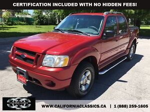 2005 Ford Explorer Sport Trac ADRENALIN! LEATHER! SUNROOF! - 4X4