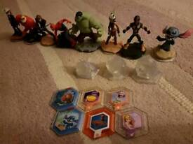 Disney infinity characters. Star wars / Marvel / Disney