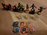 Disney infinity characters. Star wars / Marvel / Disney