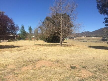 Land for sale, huge block with town services Mudgee NSW