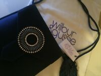 Beautiful Genuine Silk Wilbur & Gussie Handbag - Brand New With Tag - £75 (RRP £195)