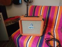 Orange crush 20ldx 20w guitar amplifier amp with built in effects