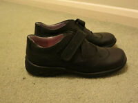 Start Rite black school shoes size 11E