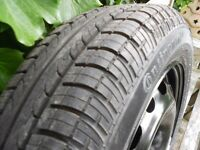 VAUXHALL CORSA ETC SPARE WHEEL AND TYRE 175/65 R14
