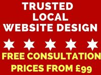 Quality Business Website Design Services - Trusted Local Website Design & Online Marketing -