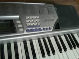 Casio ctk496 electric piano