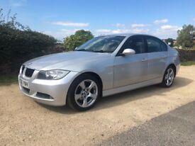 STUNNING 2006 BMW 318d SE, NEW CLUTCH AND DUAL MASS, FULL LEATHER, DUAL ZONE CLIMATE, CRUISE, F/S/H