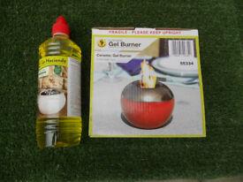 Garden burner & fuel for £9