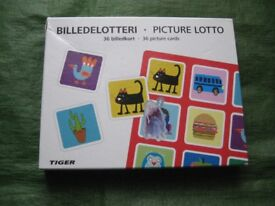 Picture Lotto for Children by Tiger - £4.00