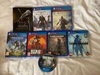 8 Playstation 4 games