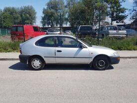1995 toyota corolla 1.3 5 door