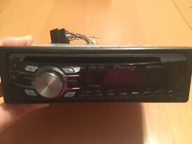 Pioneer CD Head Unit with USB in