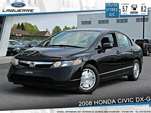 2008 Honda Civic **DX-G*AUTOMATIQUE*CRUISE*A/C**