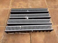 Clarke 425/90 drain channel (driveway drain) x 4