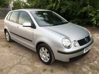 VOLKSWAGEN POLO 1.4 HATCH 03 PLATE FULL HISTORY 50,000 MILES